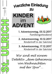 Kinder im Advent